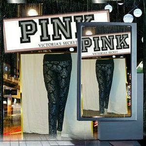 "Victoria's Secret ""PINK"" Foil Leggings"